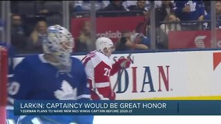 Dylan Larkin says Red Wings captaincy would be a great honor