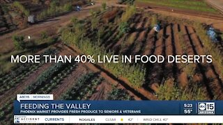 Valley woman provides fresh food to seniors and vets, fulfilling lifelong dream