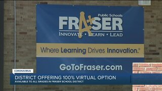 Fraser Public Schools to hold virtual K-12 classes for upcoming school year