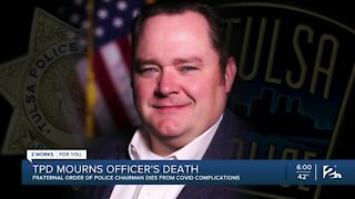 Tulsa Police Department mourns officer's death