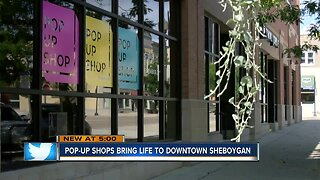 Small businesses test out downtown Sheboygan with pop-up shops