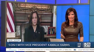 One-on-one interview with Vice President Kamala Harris