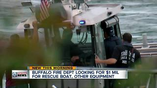 Buffalo Fire Department looking to buy fire boat