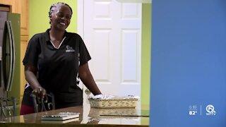 West Palm Beach woman fueled by faith is feeding her community