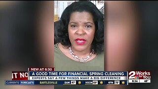 Now a good time for financial spring cleaning