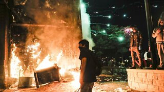 Protesters Set Fire To Minneapolis Police Precinct