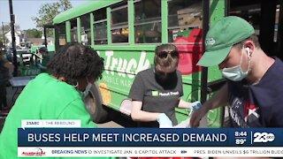 Rebound: Buses help meet increased food demand