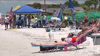 Memorial Day on Fort Myers Beach