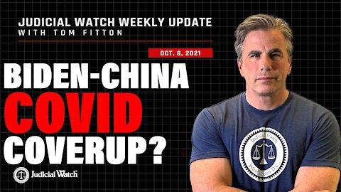 Biden-COVID-China Coverup? Trump Stands w/ Judicial Watch! & Whistleblower Exposes Secret CRT Doc