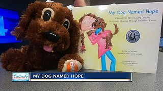 """""""My Dog Named Hope,"""" grassroots effort to help families with childhood cancer, reaches milestone"""