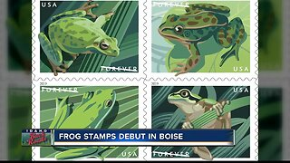 Frog stamps to debut Tuesday