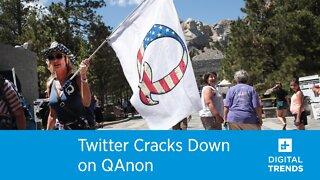 Twitter Cracks Down on QAnon