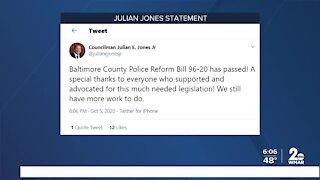 Baltimore County Police Reform Bill