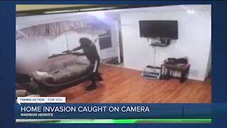 Madison Heights home invasion caught on camera