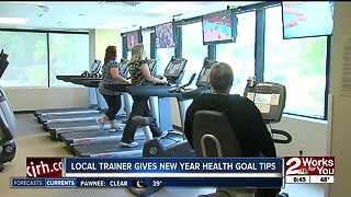 Local trainer gives New Year health goal tips