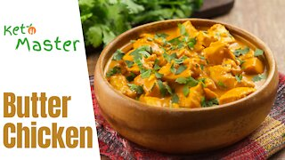 Butter Chicken   Keto Diet Easy Recipes   Low Carb Diet Plan