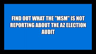 2020 AZ Election Fraud Update CLICK LINKS IN VIDEO DETAILS