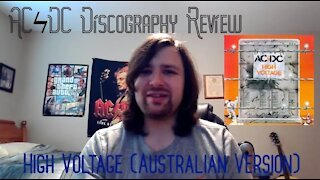 High Voltage (Australian Version) by ACϟDC Review