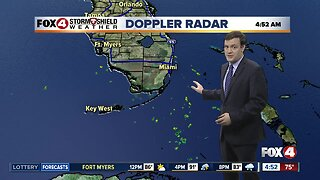 Forecast: A dry Wednesday morning with afternoon and evening storms