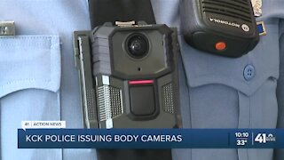 KCKPD gets body cameras after years of waiting