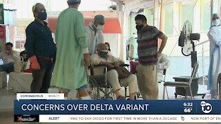 Concerns raised as delta variant continues spread