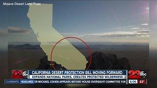 California Desert Protection Bill passes in House and Senate