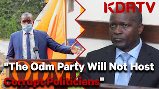 """Hon. John Mbadi, """"The ODM Party Will Not Host Corrupt Politicians"""""""