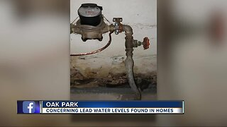 Concerning levels of lead found in Oak Park water