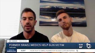 Former Israeli soldiers save Gaslamp shooting victim