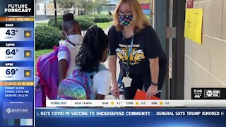School leaders remind parents to do daily health checks with students
