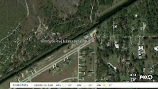 Car crashes into canal Cape Coral