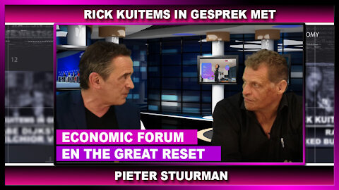 Rick Kuitems in gesprek met, Pieter Stuurman 6 april 2021