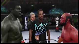 Hulk vs. Hellboy I UFC EA Sports