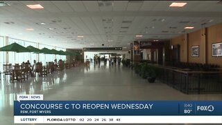 Concourse C reopens at Southwest Florida International Airport
