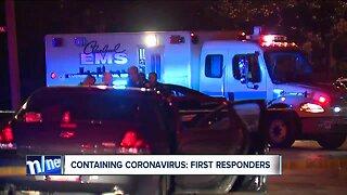 First responders, essential employees prepare to treat potential coronavirus patients