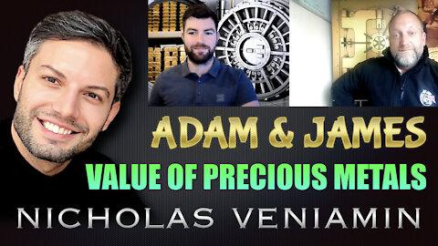 Adam Shardlow & James Mason Discusses The Value Precious Metals with Nicholas Veniamin