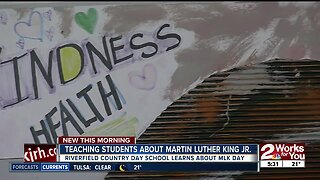 Teaching students about MLK