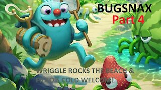 Bugsnax Part 4 Wriggle Rocks the Beach & Filbo's Cold Welcome