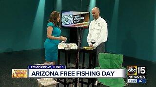 Saturday marks FREE fishing day across Arizona!