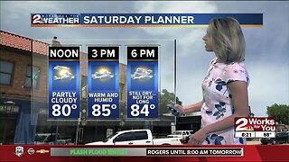 2 Works for You Forecast: More rain, storm chances tonight