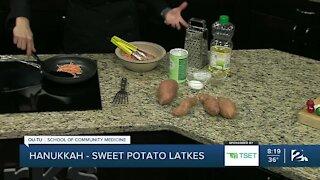 Shape Your Future Healthy Kitchen: Sweet Potato Latkes