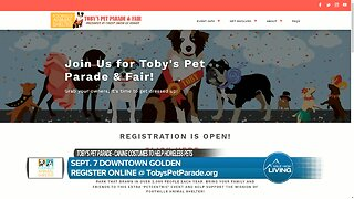 Toby's Pet Parade With Foothills Animal Shelter