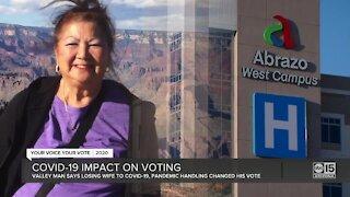 COVID-19 impact on voting