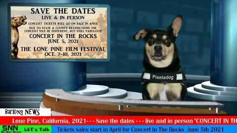 News from Lone Pine California