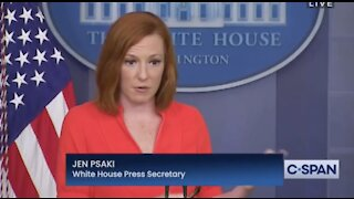 Jen Psaki says Biden feels a great deal of the crime is a result of gun violence & that crime has been spiking for years