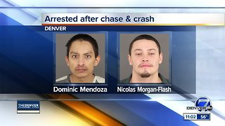 Suspects in stolen vehicle arrested after fleeing from police