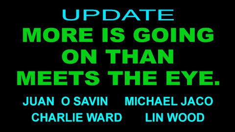 JUAN O SAVIN, MICHAEL JACO, & MORE - UPDATE - 12 min.