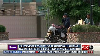 Kern County Supervisors scheduled to hear proposal for new homeless facility