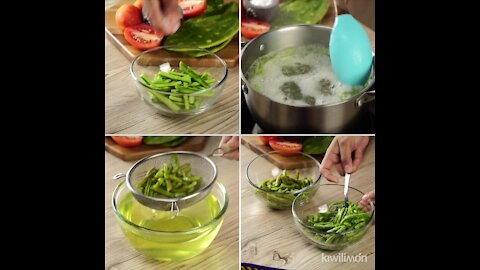 2 ways to remove the slime from nopales