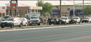 Las Vegas police investigating a homicide